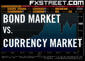 The bond market and the forex market